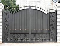 Кованые ворота арт.в 23, фото 1
