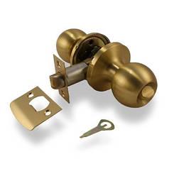 Ручка защелка Apecs 6072-03-GM с фиксацией (Матовое золото)