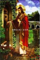"""Алмазная мозаика """"Иисус стучит в дверь"""""""
