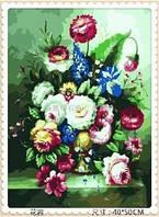 "Набор рисования камнями натюрморт ""Цветочная ваза"" (алмазная вышивка)"