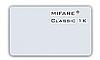 Бесконтактная карта Mifare 1 K, тонкая