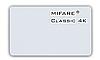 Бесконтактная смарт карта Mifare 4 K, тонкая