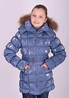 Куртка зимняя GRANTI для девочки, наполнитель-пух ,146,152,158,164