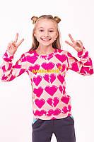 "Детский свитер ""Сердце"""