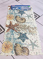 Коврик в ванную морская звезда