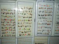 Витрина 2 наборы вольфрамовых мормышек (100шт) кивки для зимней рыбалки.