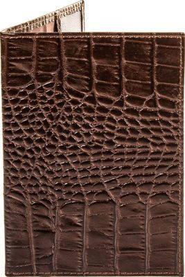 Женская очаровательная кожаная обложка для паспорта CANPELLINI (КАНПЕЛЛИНИ) SHI003-11 коричневый