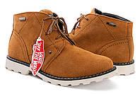 Зимние ботинки Vans светло - коричневые