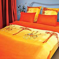 Полуторный комплект постельного белья Сафари