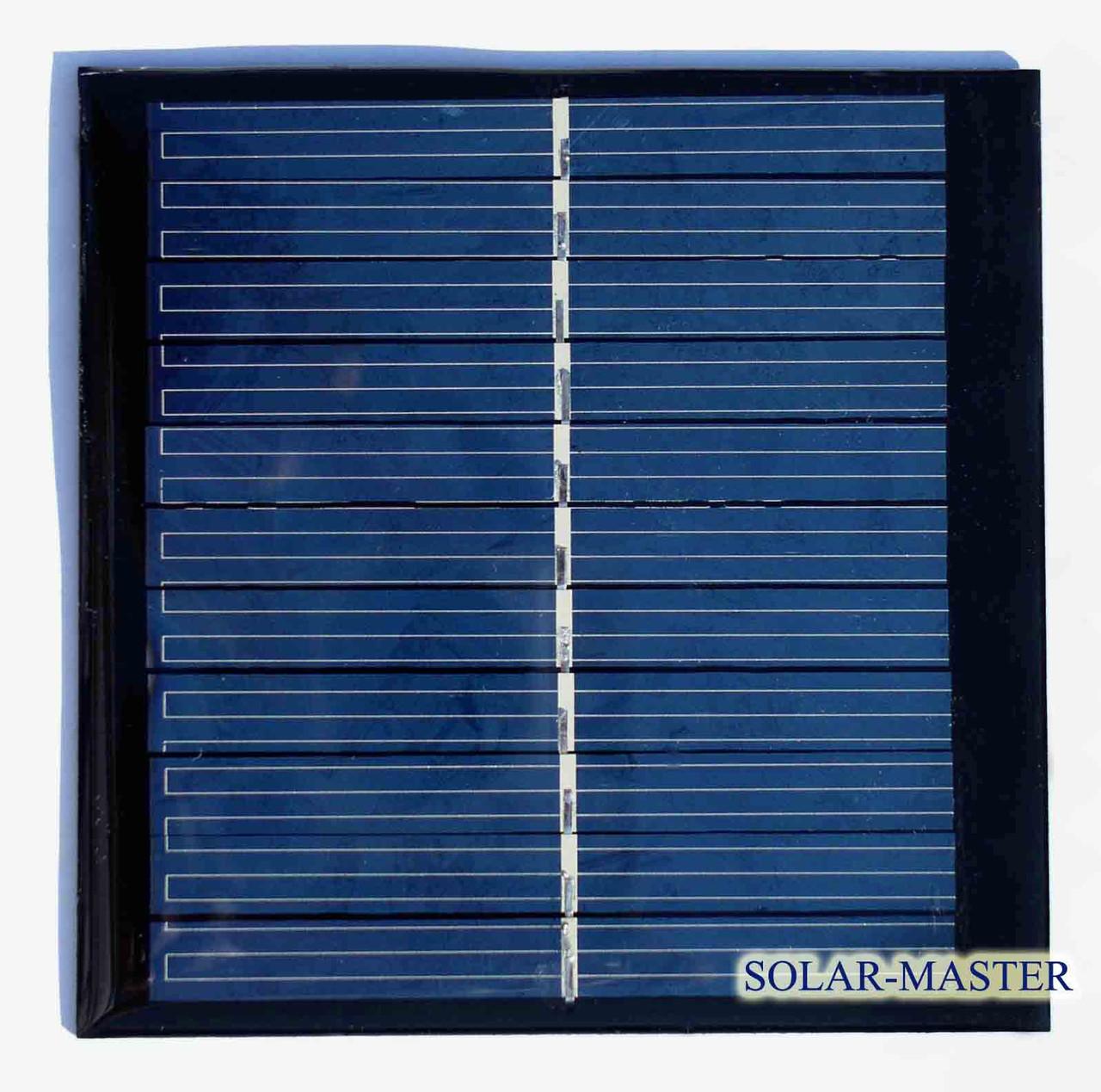 Поликристаллическая солнечная панель 1 Вт 5,5 Вольт