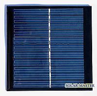 Поликристаллическая солнечная панель 1 Вт 5,5 Вольт, фото 1