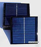 Поликристаллическая солнечная панель 1 Вт 5,5 Вольт, фото 2