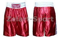 Трусы боксерские ELAST UR HO-4717-R (PL, р-р M-L, красный)