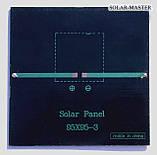 Поликристаллическая солнечная панель 1 Вт 5,5 Вольт, фото 3