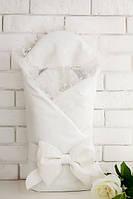 Конверт-одеяло для новорожденного весна-лето