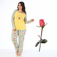 Трикотажная пижама Штаны футболка с рукавами Т  29186