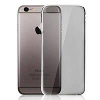 Мягкий серый прозрачный силиконовый чехол для Ipone 7 Plus (5.5), фото 1