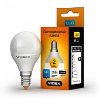 LED лампа VIDEX G45e 5W E14 3000K 220V