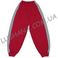 Тёплые штаны с лампасами на рост 104-116 см - Начёс