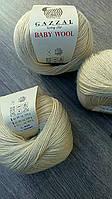 Gazzal Baby Wool - 829 молочный