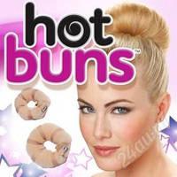 """Валики на кнопках для создания объёмной причёски """"Hot buns"""", фото 1"""