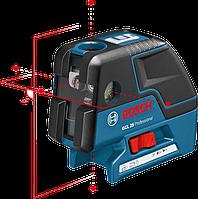 Нивелир лазерный  (линейный + точечный) Bosch GCL 25 + BM1 в L-Boxx 136