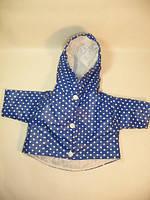 Курточка синий горошек для куклы Baby Born