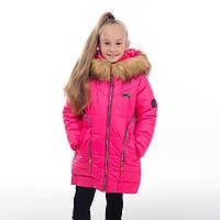 Зимняя куртка для девочки Змейка