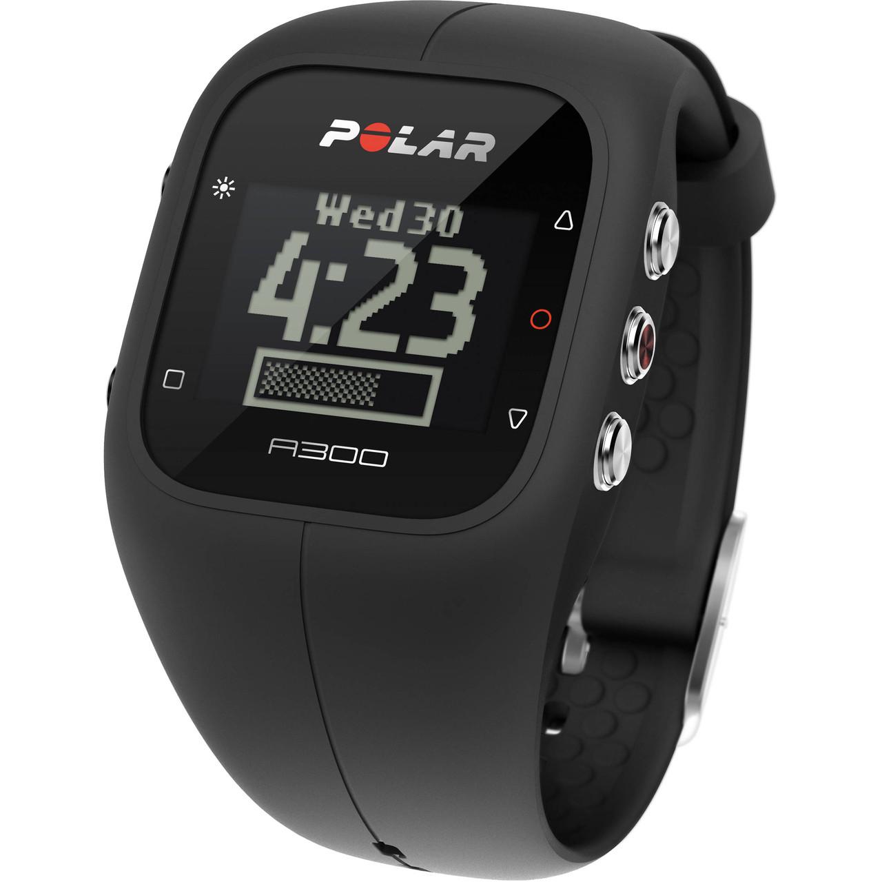 Годинник-пульсометр Polar A300 black
