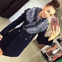 Женское зимнее пальто на утепленном подкладе со съемным мехом Харьков.  Различные цвета Размеры 42- 3ea370c03ac27