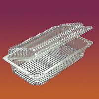 Универсальная упаковка для рулетов, тортов, кондитерских изделий,печенья 2239/200шт/ ПЕТ