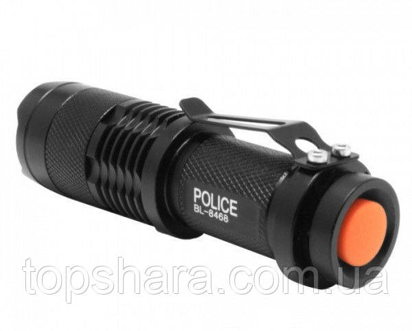 Фонарик тактический фонарь Police BL-8468 30000W Оригинал!!!