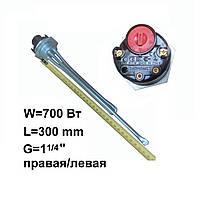 ТЭН в чугунную батарею 700 Вт с термостатом