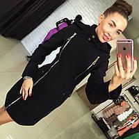 Женское демисезонное пальто из твида на подкладе  Харьков. Различные цвета Размеры 42-48 АБ 1611