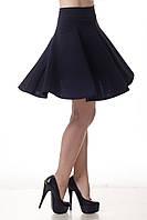 Модная женская юбка - клеш (солнце). Школьная, в университет, офис