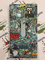 Чехол для Nokia Lumia 800 (Мультяшки)