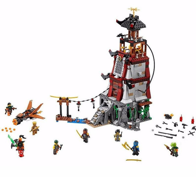 Детский конструктор Ниндзя - Bela 10528 Осада маяка