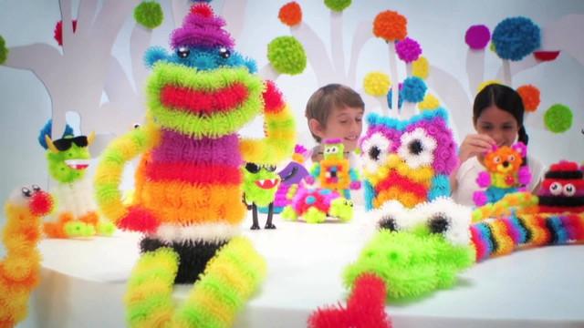 Игрушки на липучках для детей. Цветные липучки 5501