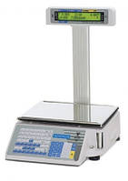 Весы чекопечатающие DIGI SM-300P б/у (со стойкой)