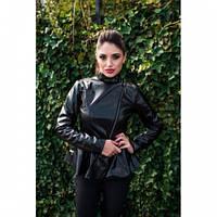 Куртка женская кожаная Удача 1, магазин курток