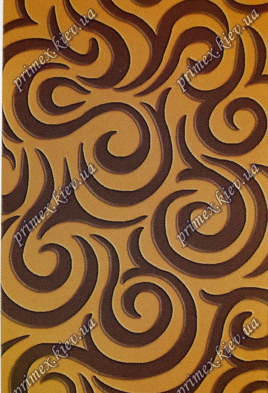 """Рельефный ковер, дорожка Арда """"Шоколад"""", цвет сандаловый"""