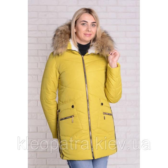 Зимняя женская куртка-парка Сеона