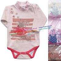 Боди для младенцев Vit2118 велюр 4 шт (0-9 мес)