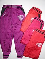 Болоневые брюки на флисе для девочек Active Sports 98,104,110,116,122 pp.