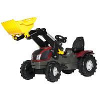 Детский педальный трактор Valtra T213 Rolly toys 611157