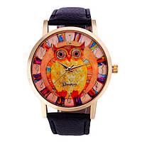 Женские наручные часы Geneva, сова