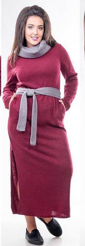 Платье женское пояс хомут полубатал