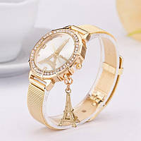 Женские наручные часы KimSeng, эйфелевая башня