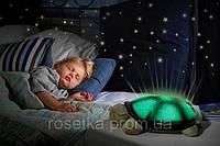 Музыкальная Черепаха-проектор звездное небо с USB адаптером, фото 1