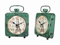 Ретро часы настольные Париж Эйфелева башня
